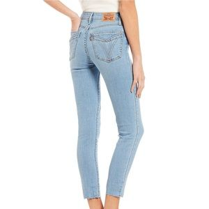 Levi's | 721 High-Rise Raw Hem Ankle Skinny Jeans